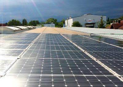 Solarreinigung Süddeutschland Dach